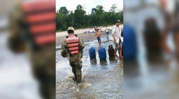 Armada Boliviana rescata a personas tras naufragio en el río Beni