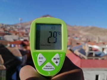 El Senamhi vuelve a pronosticar temperaturas bajo cero en Potosí