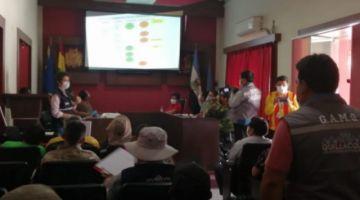 Quillacollo suma 13 casos de COVID-19 y autoridades municipales convocan a reunión de emergencia