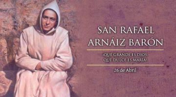 Es el día de San Rafael Arnáiz Barón
