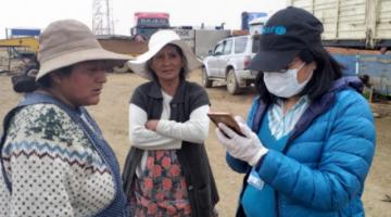 Más de 40 familias vulnerables de El Alto reciben apoyo de Unicef y la Gobernación de La Paz