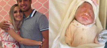 """Dellien se estrena como padre de una niña y está """"más feliz que nunca"""""""