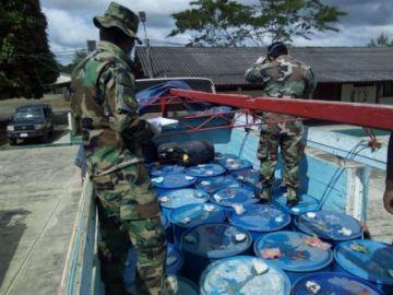 Envían a la cárcel a 10 personas que transportaban 41.000 litros de combustible al Trópico de Cochabamba