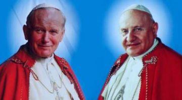 Se recuerda los seis años de la canonización de San Juan Pablo II y San Juan XXIII (videos)