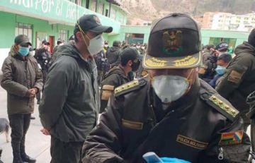 Ministro de Gobierno descarta que un segundo policía falleciera por COVID-19 en Santa Cruz