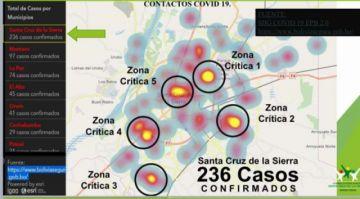 Alcaldía cerrará por una semana 13 supermercados en las zonas críticas de Santa Cruz de la Sierra