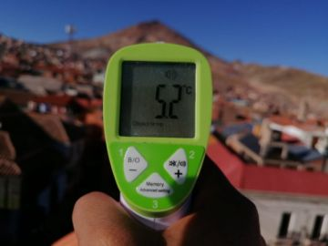Las temperaturas mínimas de Potosí siguen bajo cero (video)