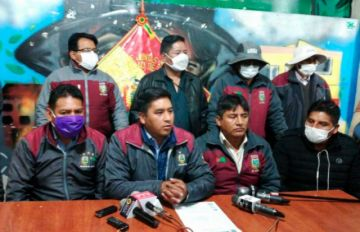 Fejuve de El Alto pide cuarentena flexibilizada para trabajar