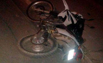 Fallece conductor de motocicleta en accidente