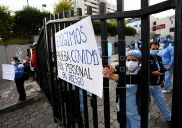 La cifra de muertos por COVID-19 sube a 871 en Ecuador, tras 208 nuevos decesos