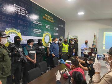 """Capturan al """"Puma"""" Rodríguez por amenazas a autoridades en nombre de un diputado del MAS"""