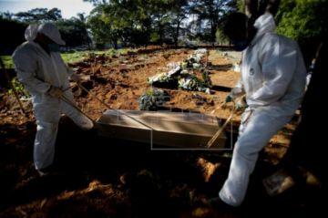 Brasil puede haber superado ya a EE.UU. en casos de COVID-19, según un estudio