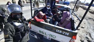 Aprehenden a más de 40 personas por acciones en El Alto, una tenía en su poder más de Bs 6.000