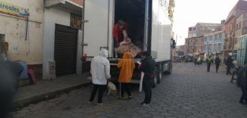 Distribuyen entre 40 a 50 reses diarias en la zona del Mercado Vicuñas