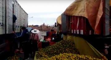 Comerciantes del interior abastecen el mercado potosino