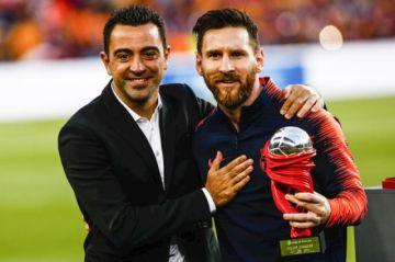 """""""Si quiere, Messi puede jugar hasta los 39 años"""", dijo Xavi Hernández"""