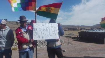 Comunarios de Macha rompieron la cuarentena por politica