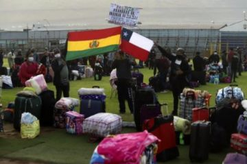 Longaric reporta que 138 bolivianos en cuarentena en Iquique dieron positivo al COVID-19