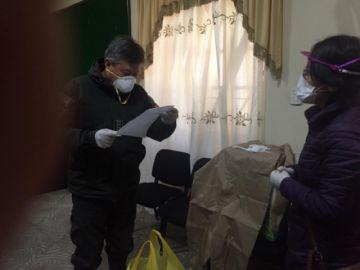 Concejala Fuertes entrega elementos de bioseguridad