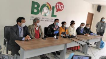 Los alcaldes de La Paz y El Alto deciden continuar con la cuarentena general