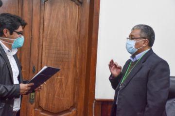 Eddy Salguero es el nuevo director del Sedes Potosí