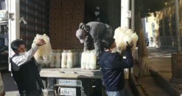 Industrias Venado apoya con alimentos a las familias
