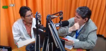 """""""¡Carajo, ordénense!"""", el grito de un periodista al gobernador y a otras autoridades de La Paz ante la falta de coordinación"""