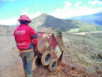 Regalías mineras cayeron estrepitosamente en Potosí
