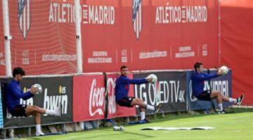 """El """"Atleti"""" de Simeone tuvo su primera práctica"""