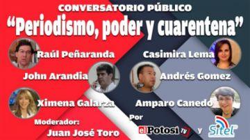 El Potosí rinde homenaje al Día del Periodista
