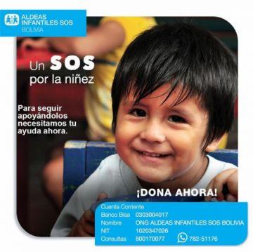 Aldeas Infantiles SOS lanza la campaña de recaudación de fondos un SOS por la niñez