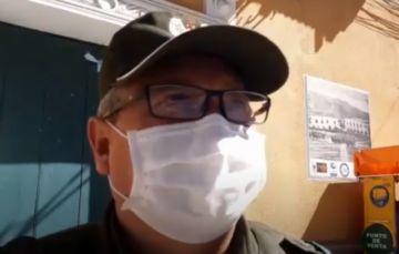 Dirigente vecinal fue arrestado por salida ilegal de su domicilio