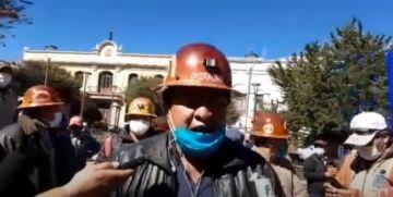 Cooperativistas piden la renuncia de Carlos Porco