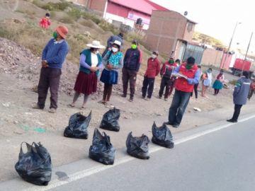 Voluntarios potosinos prosiguen con campaña solidaria