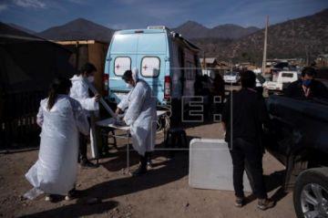 Chile alcanza otro récord de casos diarios de COVID-19 con 1.658 contagios