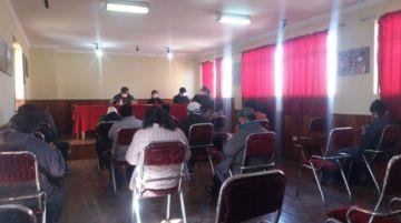 Delegados de Comcipo se reúnen esta mañana