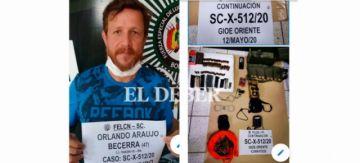 Fiscalía revela que Araujo fue contactado por pilotos de narcojet y fue enviado a Palmasola