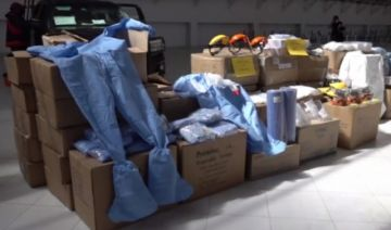 La Gobernación entregó equipo de bioseguridad al Hospital Bracamonte