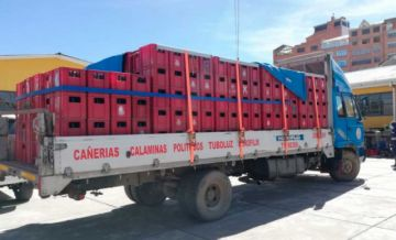 Decomisan unas 500 cajas de cerveza que eran transportadas ilegalmente