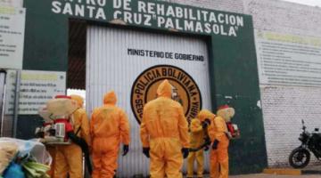 El penal de Palmasola registra 53 casos de COVID-19 entre infectados y sospechosos