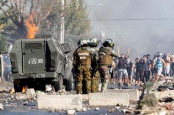 """Protestas en el sur de Santiago: """"No es contra la cuarentena, es contra el hambre"""""""