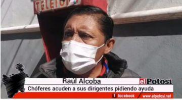 Transportistas están en crisis por la cuarentena en Potosí