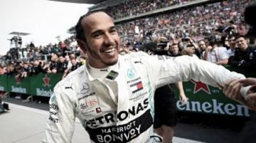 """""""Cuando volvamos al auto estaremos oxidados"""", vaticinó Lewis Hamilton"""