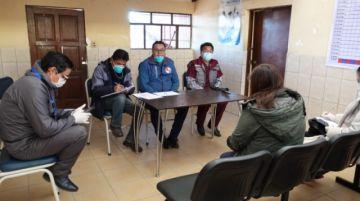 Sedes asume medidas frente a los contagios en Llallagua