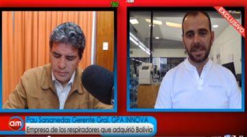 GPA Innova no sabe cuántos intermediarios hubo en la compra de respiradores para Bolivia