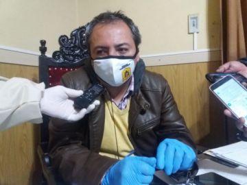 Eloy Relos es elegido alcalde subrogante
