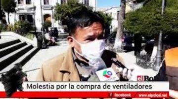Observan denuncia de irregularidades en compra de respiradores