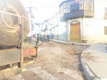 Inician obras de mejoramiento vial en calle Linares