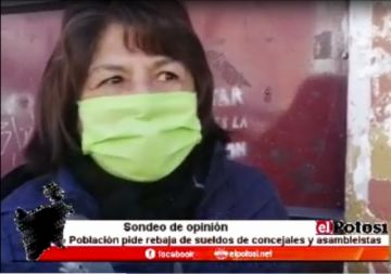 El Potosí le consulta sobre la reducción de salario de legisladores