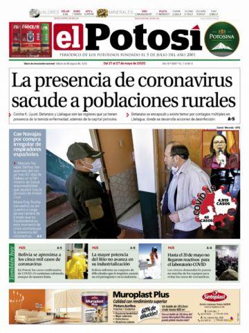 El Potosí vuelve a circular este jueves